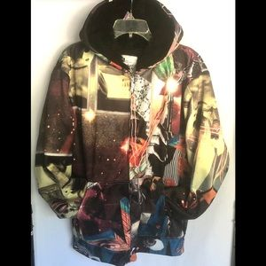 Volcom Hovin Wang Winter Hoodie Jacket size XL